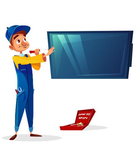 تعمیرکار تلویزیون