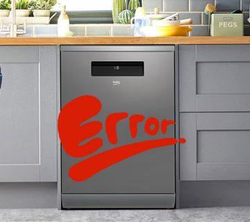 کدهای خطا و ارور ماشین ظرفشویی بکو