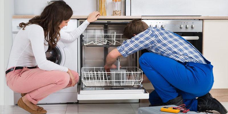 رفع عیب های ماشین ظرفشویی