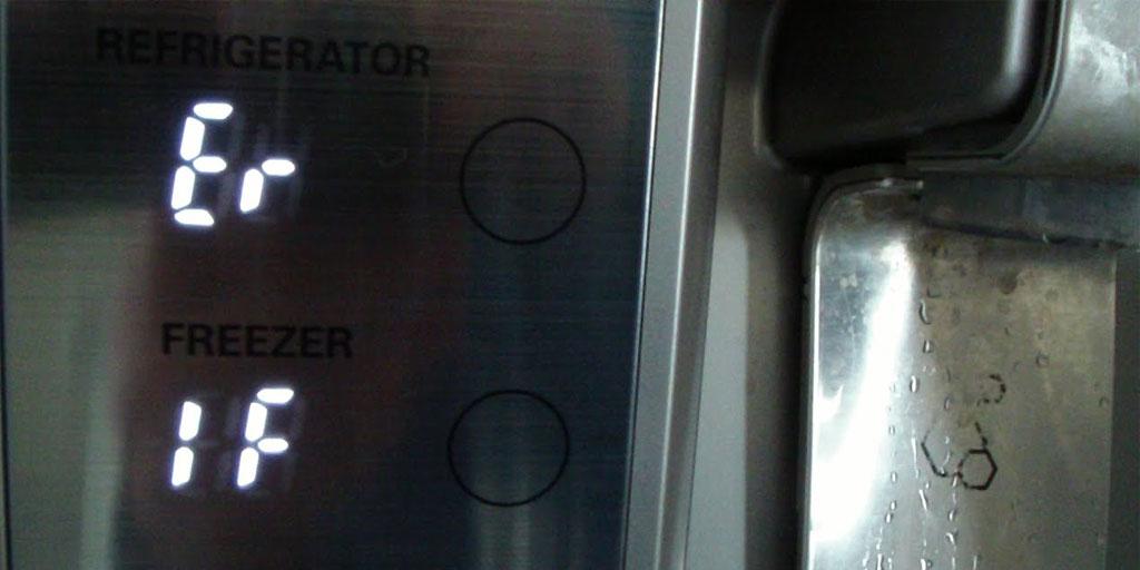 کدهای خطا و ارور یخچال فریزر ال جی