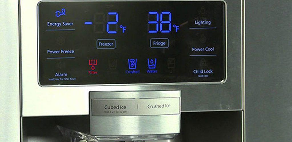 کدهای خطا و ارور یخچال فریزر سامسونگ